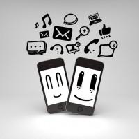 mobile smiley faces