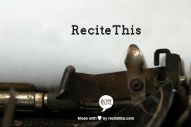 recite this example1