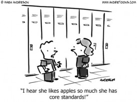 apples and core standards