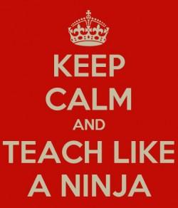 carry on and teach like a ninja