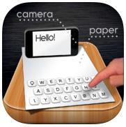 paper keyboard app