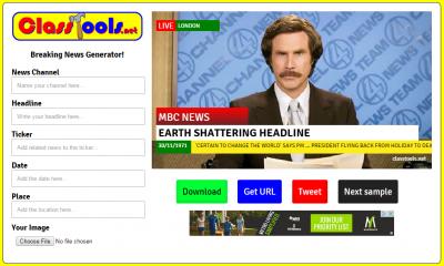 headline news generator