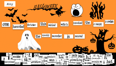 halloween magnetic poetry2