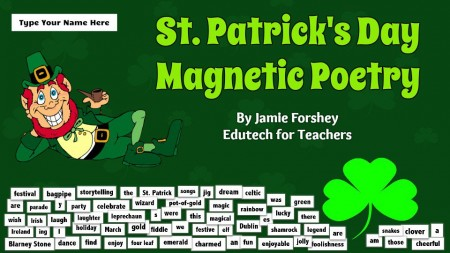 St.PatricksDayMagneticPoetry