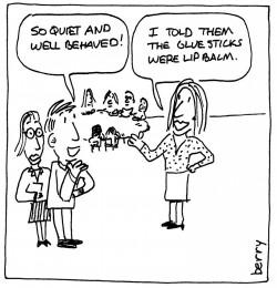 berry cartoon school discipline